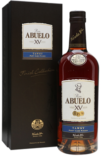 Ron Abuelo Rum Tawny Port Wood Finish 750ml